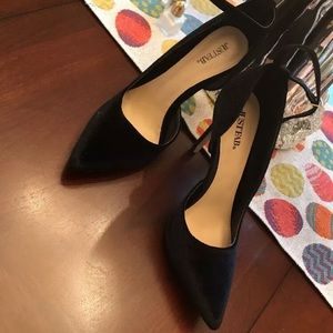 Just fab pointed toe heels size 8.5